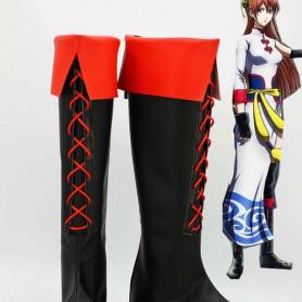 Gin Tama Cosplay Kagura Cosplay Boots