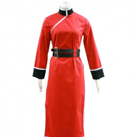 Gin Tama/ Silver Soul Kagura 4th Uniform Cosplay Costume