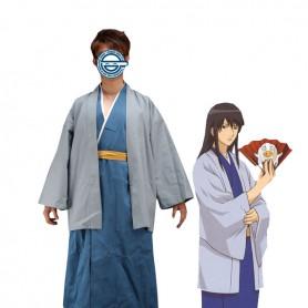 Gin Tama/ Silver Soul Katsura Kotarou Suit Cosplay Costume