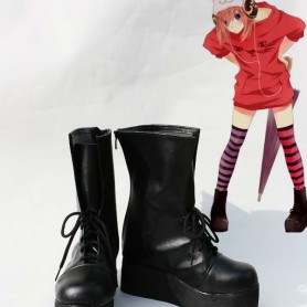 Silver Soul Cosplay Kagura Cosplay Boots