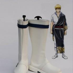 Silver Soul Cosplay Sakata Gintoki Cosplay Boots