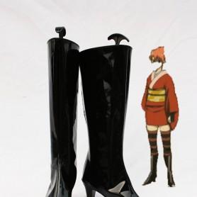 Silver Soul/Gin Tama Kagura Cosplay Show Boots