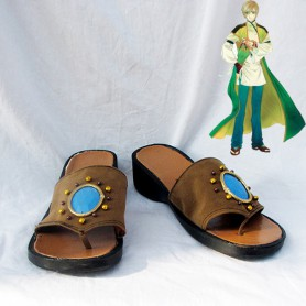 Harukanaru Toki No Naka de 4 Nagi Cosplay Shoes