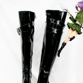 Hitman Reborn Chrome Dokuro Shiny Cosplay Boots