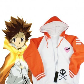 Hitman Reborn Cosplay Tsunayoshi Sawada Cosplay Costume