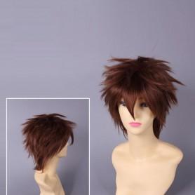Hitman Reborn Tsunayoshi Sawada Cosplay Wig
