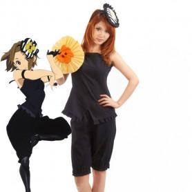 K-ON! Cosplay Ritsu Tainaka's Black Cosplay Costume