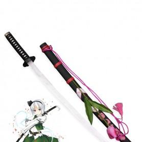 Touhou Project Cosplay Youmu Konpaku Wood Cosplay Sword