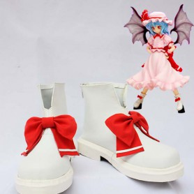 Touhou Project Remilia Scarlet Cosplay Boots