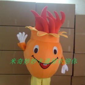 Manufacturers Cartoon Walking Doll Clothing Cartoon Doll Costumes Cartoon Costumes Pomegranate Mascot Costume