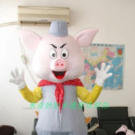 Walking Cartoon Doll Clothing Theatrical Costume Cartoon Costumes Cartoon Costumes Pig Mascot Costume