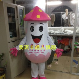 Cartoon Costumes Walking Cartoon Dolls Cartoon Doll Dress Performance Props Mushrooms Mascot Costume
