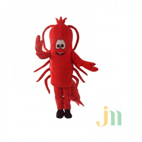 Spicy Crawfish Cartoon Walking Doll Cartoon Clothing Sets Even Spicy Crawfish Mascot Costume