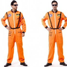 Halloween Costume Adult Adult Stage Astronaut Service Astronaut Service