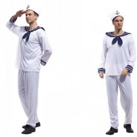 Halloween Costume Adult Stage Navy Sailor Suit Sailor Uniform