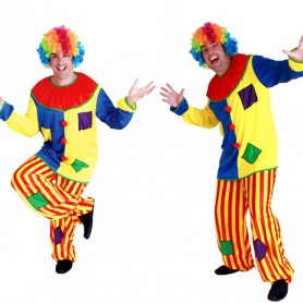 Halloween Costume Clown Party Funny Clown Set