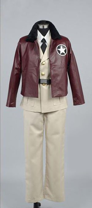 Axis Power Hetalia American Halloween Cosplay Costume