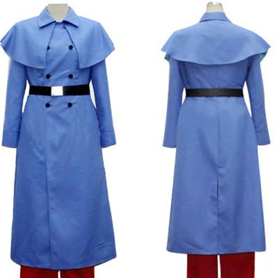 Axis Powers Hetalia Blue Francaise Halloween Cosplay Costume