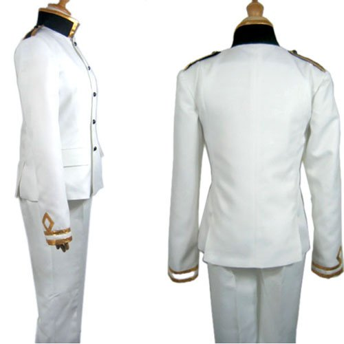 Axis Powers Janpanse Uniform Halloween Cosplay Costume