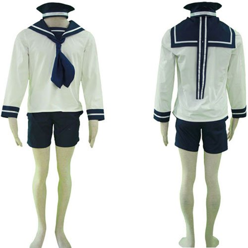 Axis Powers N. Italy Sailor Suit Halloween Cosplay Costume
