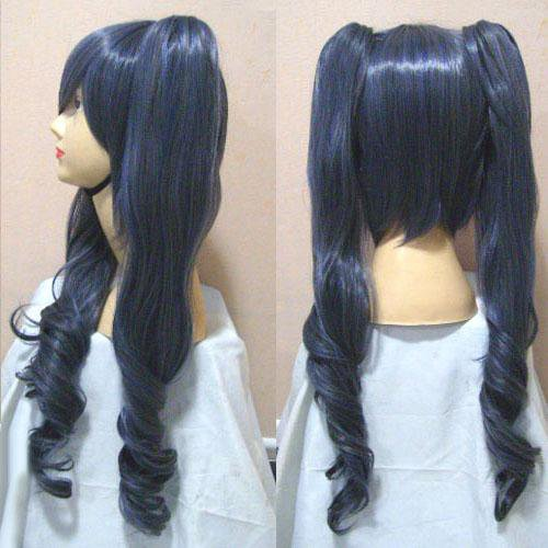 Black butler Ciel Phantomhive-Women dress Halloween Cosplay Wig
