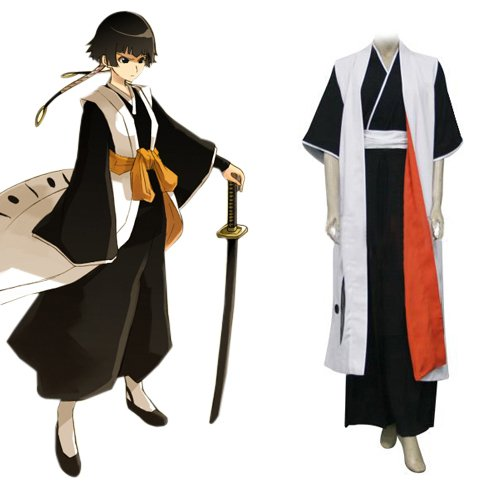 Bleach 2nd Division Captain Soi Fong Halloween Cosplay Costume