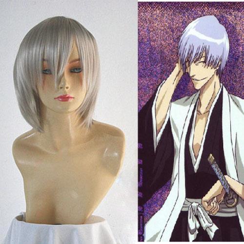 Bleach 3rd Division Ichimaru Gin Halloween Cosplay Wig