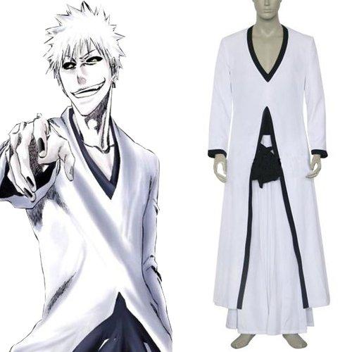 Bleach Ichigo Kurosaki Hollow Form Men\'s Halloween Cosplay Costume