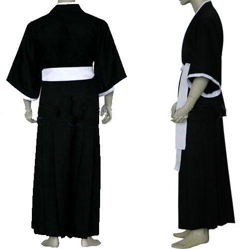 Bleach Ichigo Kurosaki Soul Reaper Uniform Halloween Cosplay Costume