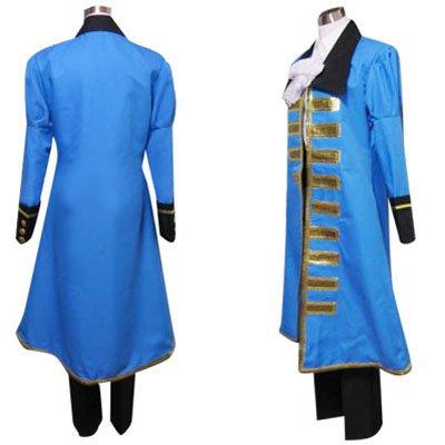 Hetalia Axis Powers Blue France Halloween Cosplay Costume