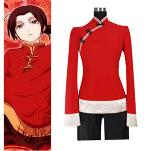 Hetalia Axis Powers China Girl Halloween Cosplay Costume