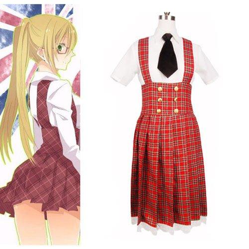 Hetalia Axis Powers Gakuen School Uniform Halloween Cosplay Costume