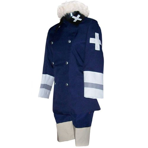 Hetalia Axis Powers Royal Blue  Halloween Cosplay Costume