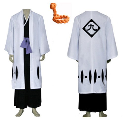 Bleach 9th Division Captain Tousen Kanamei Men\'s cosplay costume
