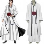 Bleach Aizen Sousuke Arrancar Halloween Cosplay Costume