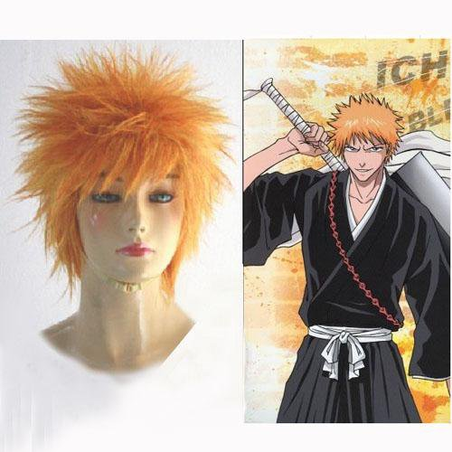 Bleach Ichigo Kurosaki Bankai Halloween Cosplay Wig