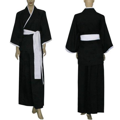 Bleach Kuchiki Rukia Soul Reaper Uniform Halloween Cosplay Costume