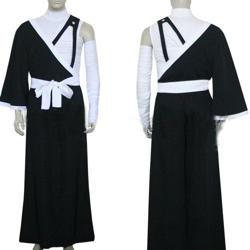 Bleach Kurosaki Ichigo Men\'s Execution Ground Halloween Cosplay Costume