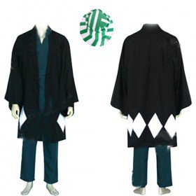 Bleach Urahara Kisuke Men\'s Halloween Cosplay Costume
