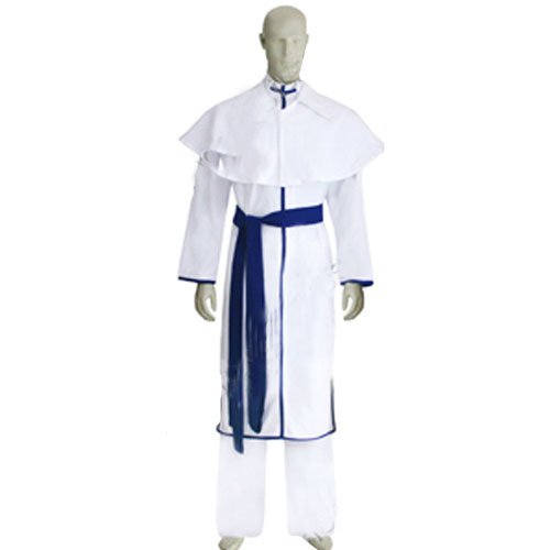 Bleach Uryuu Ishida Men\'s Halloween Cosplay Costume