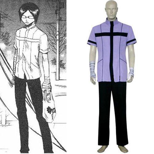 Bleach Uryuu Ishida Quincy Uniform Halloween Cosplay Costume