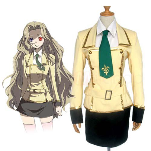 Cheap Code Geass Lelouch of the Rebellion Halloween Cosplay Costume