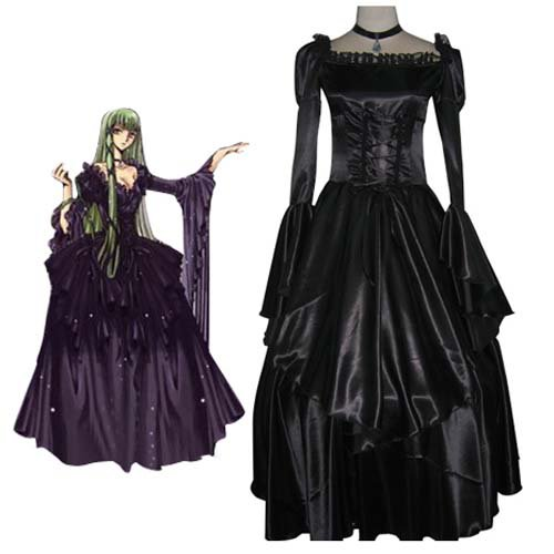 Code Geass Elegant Green Halloween Cosplay Costume
