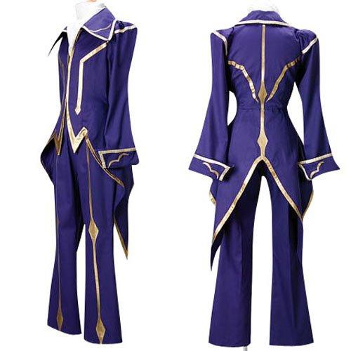 Code Geass Lelouch of the Rebellion Zero Halloween Cosplay Costume
