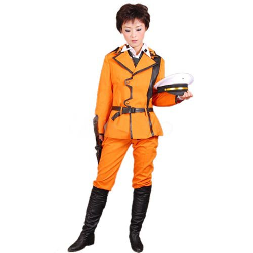 Code Geass Lloyd Asplund Halloween Cosplay Uniform Costume