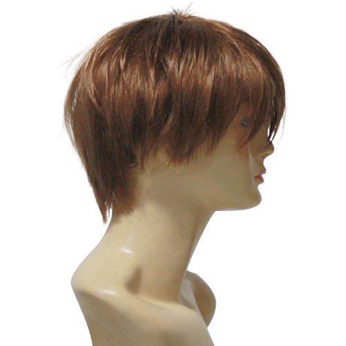 Code Geass Suzaku Kururugi Brown Halloween Cosplay Wig