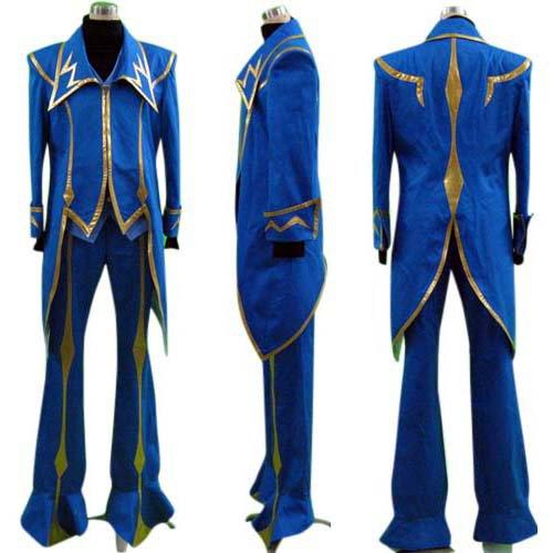 Code Geass Zero Halloween Cosplay Costume