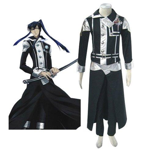 D.Gray Man Kanda Yuu Halloween Cosplay Costume