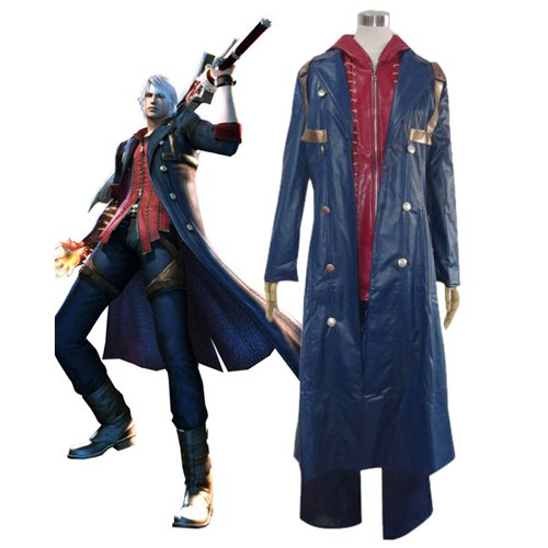 Devil May Cry 4 Nero Halloween Cosplay Costume