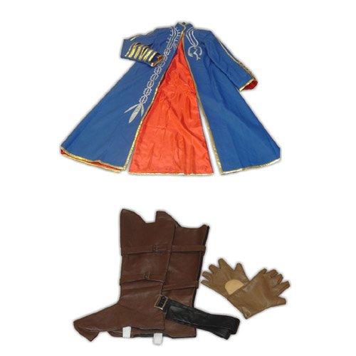 Devil May Cry III Vergil Halloween Cosplay Costume